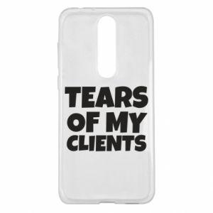 Etui na Nokia 5.1 Plus Tears of my clients