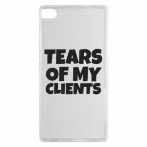 Etui na Huawei P8 Tears of my clients