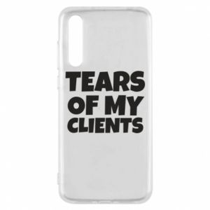 Etui na Huawei P20 Pro Tears of my clients