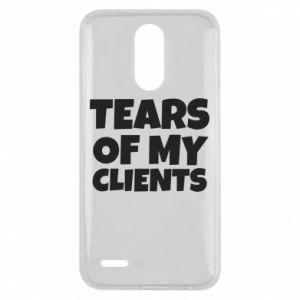 Etui na Lg K10 2017 Tears of my clients