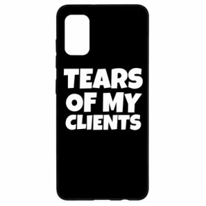 Etui na Samsung A41 Tears of my clients