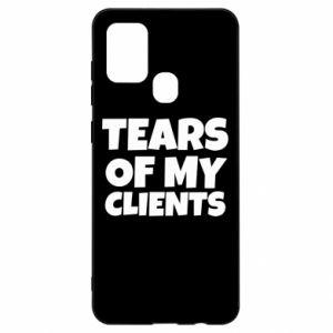 Etui na Samsung A21s Tears of my clients