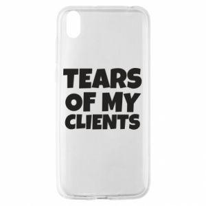 Etui na Huawei Y5 2019 Tears of my clients