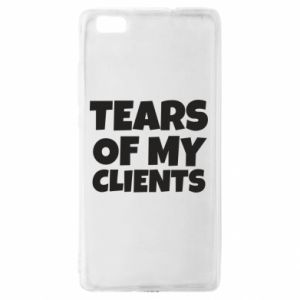 Etui na Huawei P 8 Lite Tears of my clients