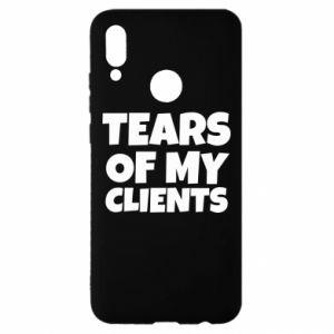Etui na Huawei P Smart 2019 Tears of my clients