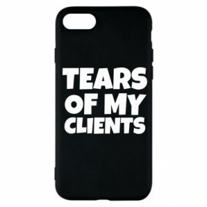 Etui na iPhone SE 2020 Tears of my clients