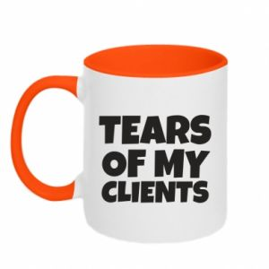 Kubek dwukolorowy Tears of my clients