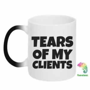 Kubek-kameleon Tears of my clients
