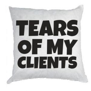 Poduszka Tears of my clients