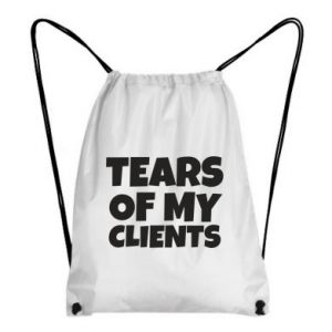 Plecak-worek Tears of my clients