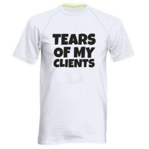 Koszulka sportowa męska Tears of my clients