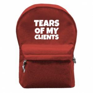 Plecak z przednią kieszenią Tears of my clients