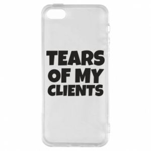 Etui na iPhone 5/5S/SE Tears of my clients