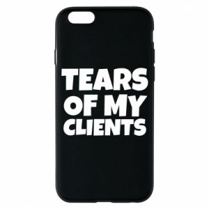 Etui na iPhone 6/6S Tears of my clients