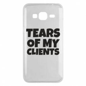 Etui na Samsung J3 2016 Tears of my clients