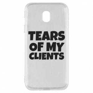 Etui na Samsung J3 2017 Tears of my clients