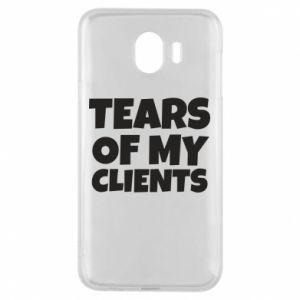 Etui na Samsung J4 Tears of my clients