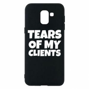 Etui na Samsung J6 Tears of my clients