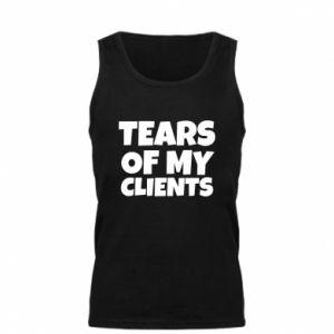 Męska koszulka Tears of my clients