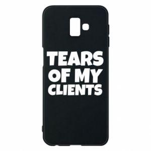 Etui na Samsung J6 Plus 2018 Tears of my clients