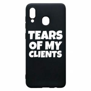 Etui na Samsung A20 Tears of my clients