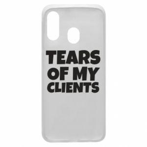 Etui na Samsung A40 Tears of my clients