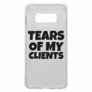 Etui na Samsung S10e Tears of my clients