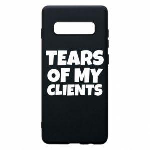 Etui na Samsung S10+ Tears of my clients