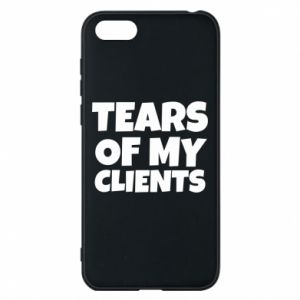 Etui na Huawei Y5 2018 Tears of my clients