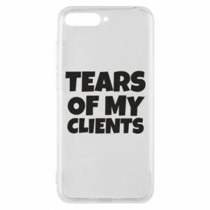 Etui na Huawei Y6 2018 Tears of my clients