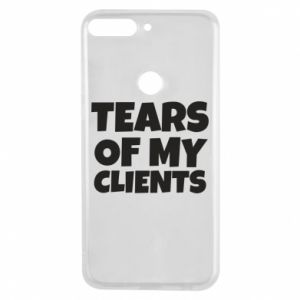 Etui na Huawei Y7 Prime 2018 Tears of my clients