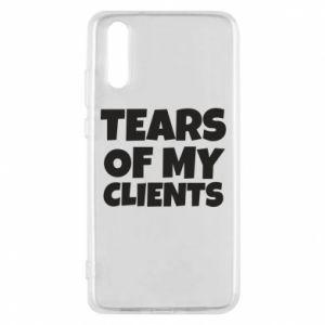 Etui na Huawei P20 Tears of my clients