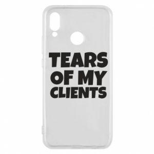 Etui na Huawei P20 Lite Tears of my clients