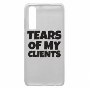 Etui na Huawei P30 Tears of my clients
