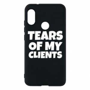 Etui na Mi A2 Lite Tears of my clients