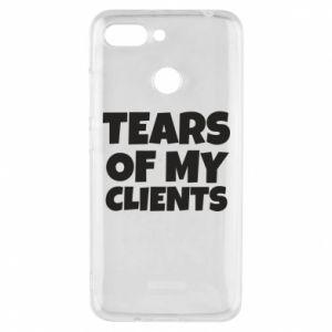 Etui na Xiaomi Redmi 6 Tears of my clients