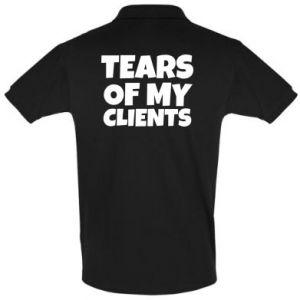 Koszulka Polo Tears of my clients