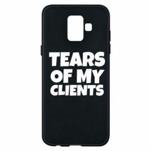 Etui na Samsung A6 2018 Tears of my clients