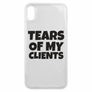 Etui na iPhone Xs Max Tears of my clients