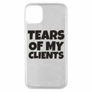 Etui na iPhone 11 Pro Tears of my clients