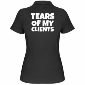 Koszulka polo damska Tears of my clients