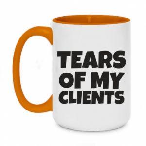 Kubek dwukolorowy 450ml Tears of my clients