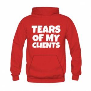 Bluza z kapturem dziecięca Tears of my clients