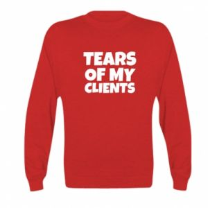 Bluza dziecięca Tears of my clients