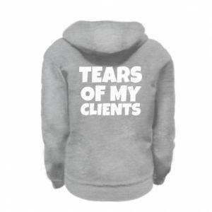 Bluza na zamek dziecięca Tears of my clients