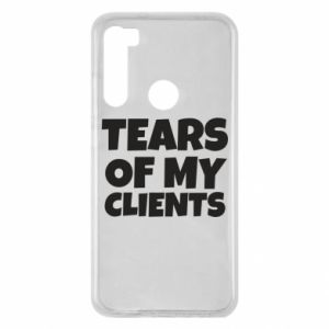 Etui na Xiaomi Redmi Note 8 Tears of my clients