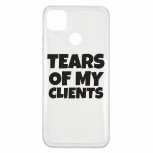 Etui na Xiaomi Redmi 9c Tears of my clients