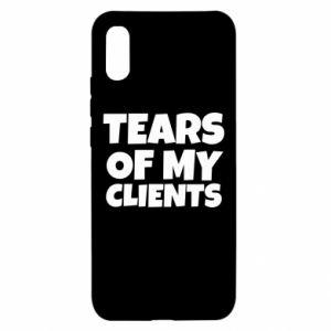 Etui na Xiaomi Redmi 9a Tears of my clients