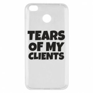 Etui na Xiaomi Redmi 4X Tears of my clients