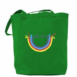Bag Smiling rainbow